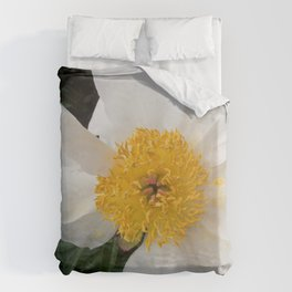 White Beauty by Teresa Thompson Duvet Cover