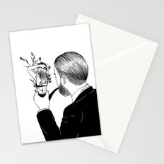 Man In Love Stationery Cards