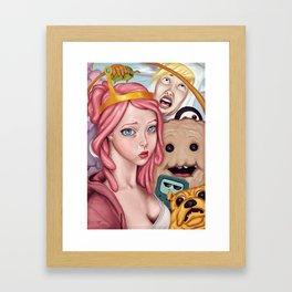 Selfie Time Framed Art Print