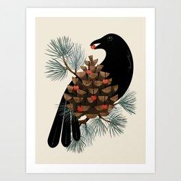 Bird & Berries Kunstdrucke