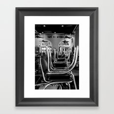 First For Beignets Framed Art Print