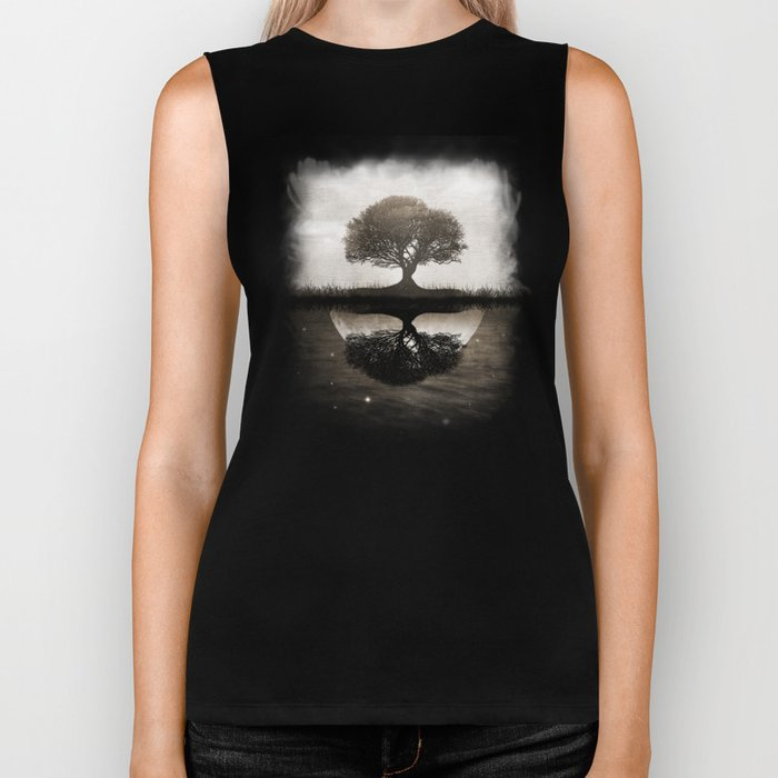 The lone Night reflex Biker Tank