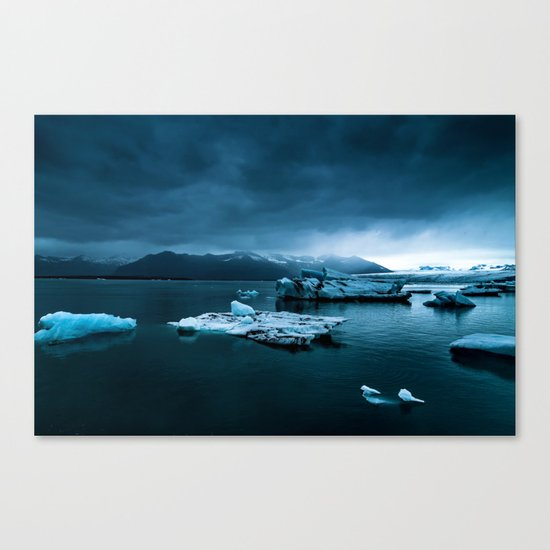 Blistering Cold Canvas Print