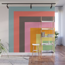Stacked Colors Wall Mural