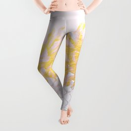 Golden pineapples Leggings