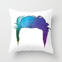Too Weird to Live Throw Pillow
