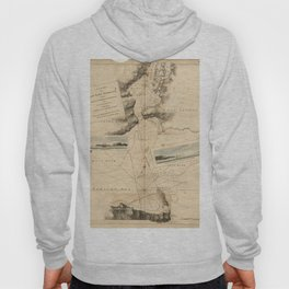 The Atlantic Neptune: Charts for the Use of the Royal Navy (1780) - New York Harbour Hoody