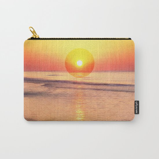 Sunrise Over Ocean Carry-All Pouch
