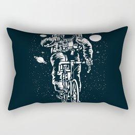 Crazy Astronaut Rectangular Pillow