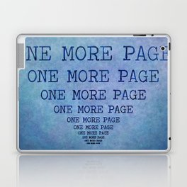 One More Page Laptop & iPad Skin