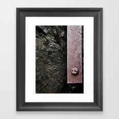 Wooden Energy Framed Art Print
