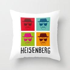Heisenberg Popart Throw Pillow