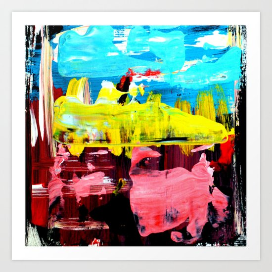 Color Abstract 4 Art Print