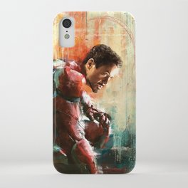 The man of Iron iPhone Case