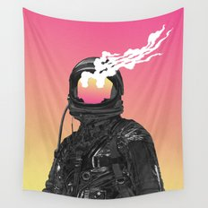 burnt Wall Tapestry