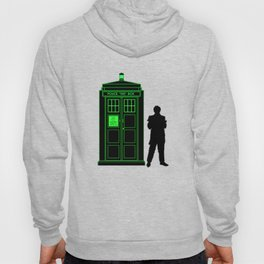 Tardis With The Second Doctor Hoody