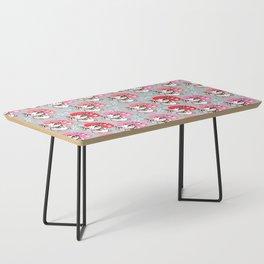 Kyoto Kitty on Grey Coffee Table