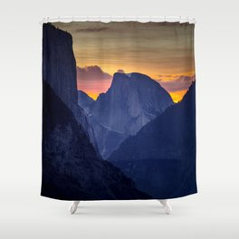 Half Dome Sunrise ~ Yosemite National Park Shower Curtain
