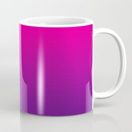 Neon Pink Purple Ultra Violet Pattern Coffee Mug