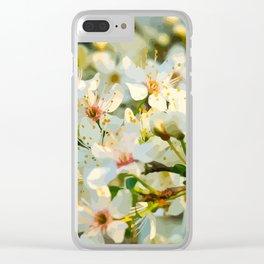 Sakura Clear iPhone Case