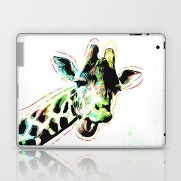 Giraffe - Smile - Pop Art Laptop & iPad Skin
