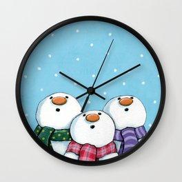 Winter Wonderment Wall Clock