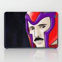 magneto iPad Cases featuring Magneto Tesla by Aghko