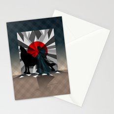 Spirit trapped in mirrors  Stationery Cards