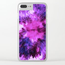 Ultraviolet - Extend Clear iPhone Case