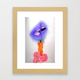 Candlelit #1 Framed Art Print