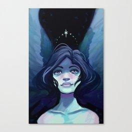 Starry Angel Canvas Print