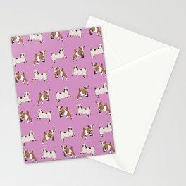 Baesic Prancing Goats Stationery Cards
