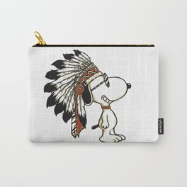 indian snoopy Carry-All Pouch
