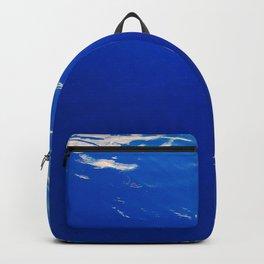 Neon Blue Ocean Backpack