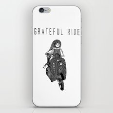 GRATEFUL RIDE iPhone & iPod Skin