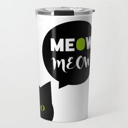 Meow Meow Travel Mug