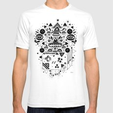 Costok 1 Mens Fitted Tee SMALL White