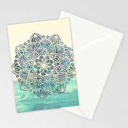 Mandala Mermaid Oceana Stationery Cards