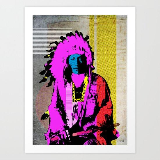 Indian Pop 9 Art Print