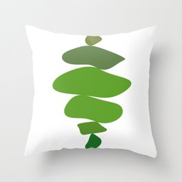 Art stones Throw Pillow