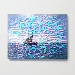 Ship fata morgana Metal Print