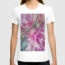 Abstract flower pattern 3 T-shirt