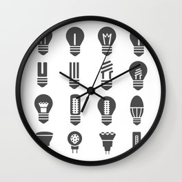 Set lamps Wall Clock