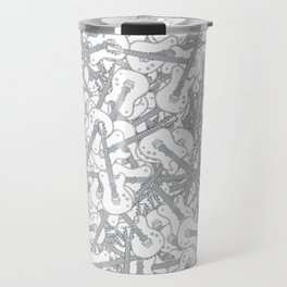 Guitar Hero II B&W Travel Mug