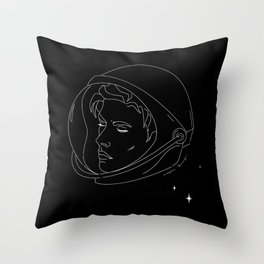 Everything Beautiful Is Far Away No.2 Throw Pillow