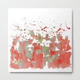 Aqua: Watermelon burst! Metal Print