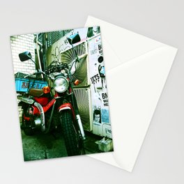 harajuku bike Stationery Cards