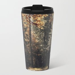 Autumn light and rays - horizontal Travel Mug