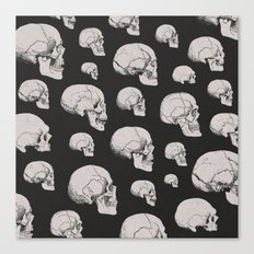 On the Two Principal Forms of Ancient British and Gaulish Skulls Canvas Print