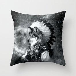 Animal Spirit Throw Pillow